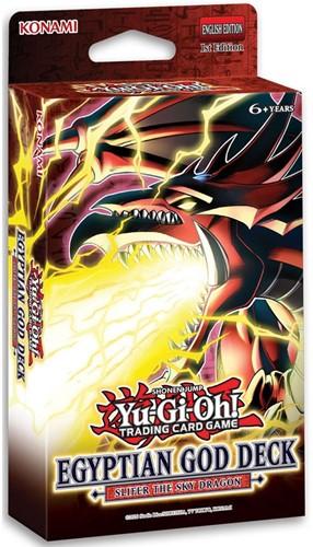 Yu-Gi-Oh! - Egyptian God Deck Slifer The Sky Dragon