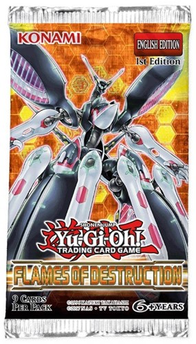 Yu-Gi-Oh! - Flames of Destruction Boosterpack