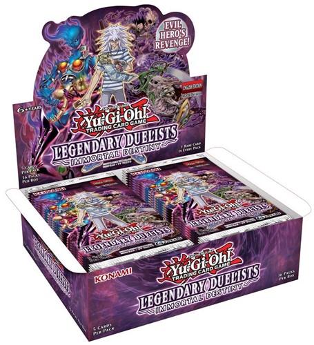 Yu-Gi-Oh! - Legendary Duelists Immortal Destiny Boosterbox