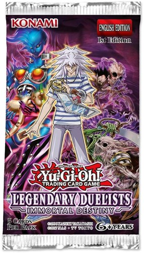 Yu-Gi-Oh! - Legendary Duelists Immortal Destiny Boosterpack