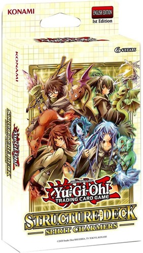 Yu-Gi-Oh! - Spirit Charmers Themedeck