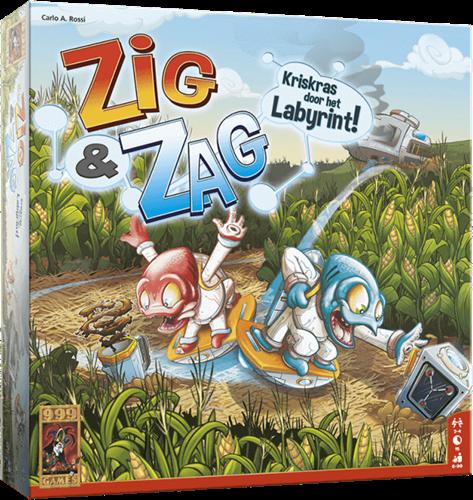 Zig & Zag - Bordspel-1
