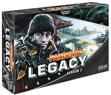 Pandemic Legacy - Season 2 Black (Engels)
