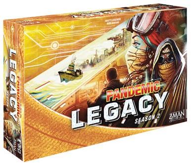 Pandemic Legacy - Season 2 Yellow (Engels)