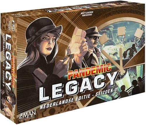 Pandemic Legacy Seizoen 0 (NL versie) (demo spel)